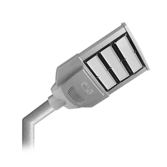 510 - Установка светодиодного светильника на столб