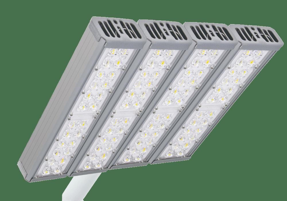 93 - Установка светодиодного светильника на фасад