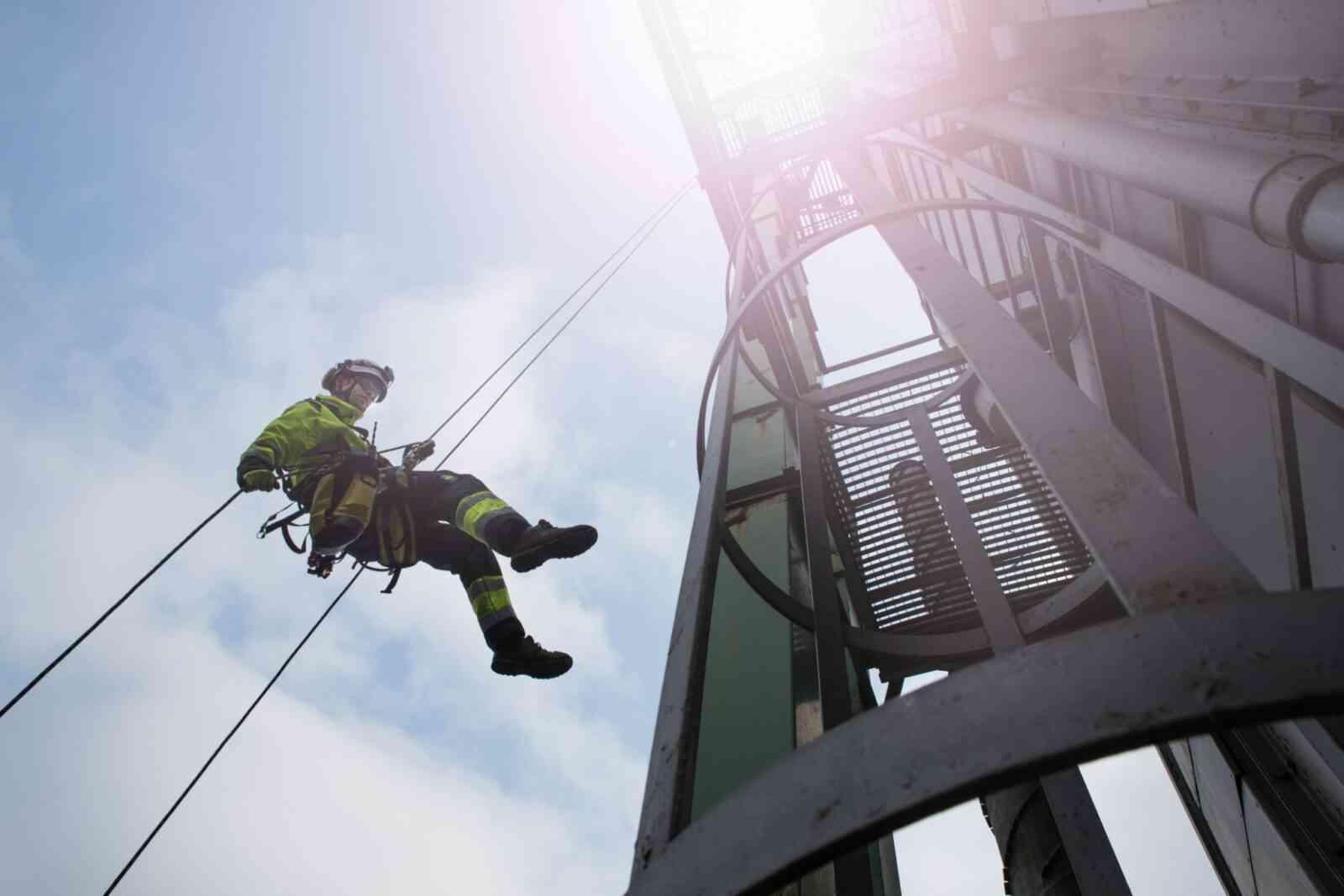 alpinizm - Промышленный альпинизм